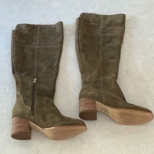 Marc Fisher Suede Knee High Boots